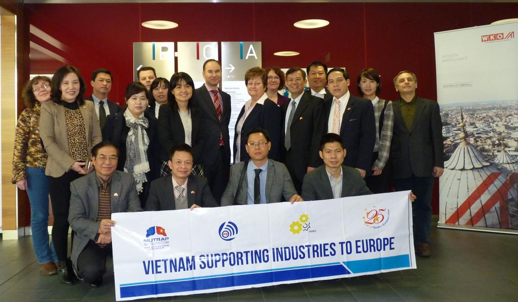 Meeting with Vietnamese Entrepreneurs and Officials, Place: WKO.AT, Vienna, Austria